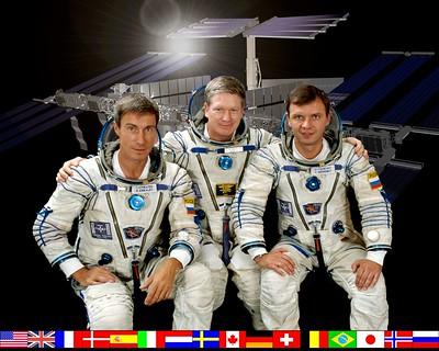 Expedition 1 crew portrait.