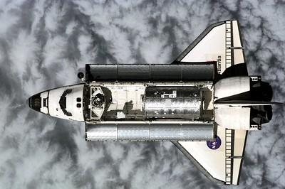 STS-98 delivers Destiny lab.