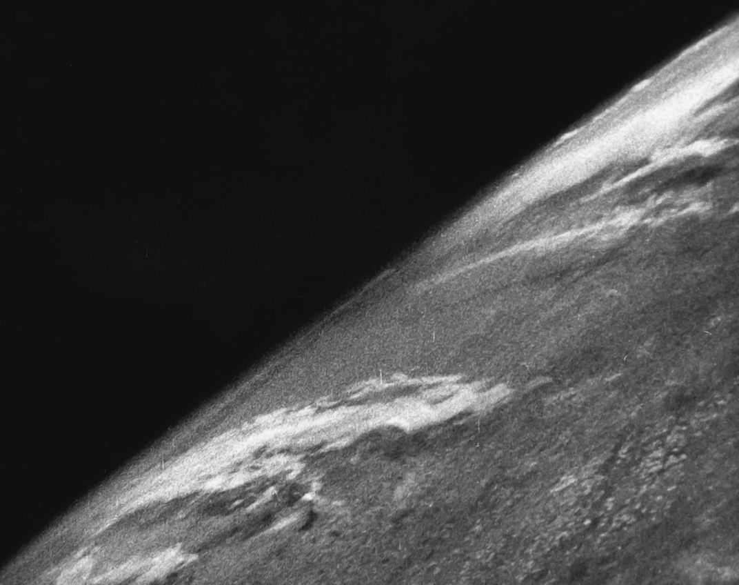 First photo captured from space.