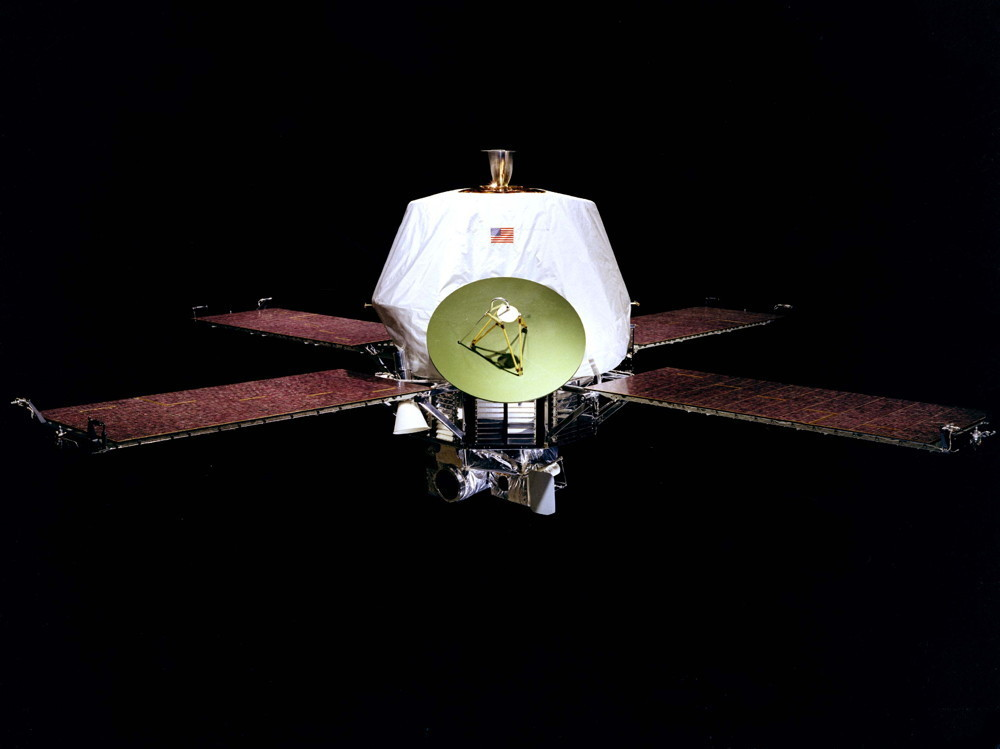 Mariner 9 spacecraft.