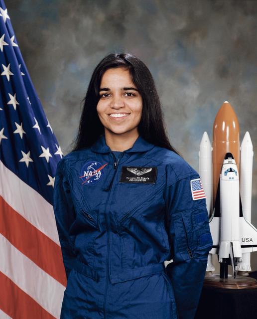 Kalpana Chawla astronaut portrait.