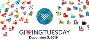 Giving Tuesday has arrived