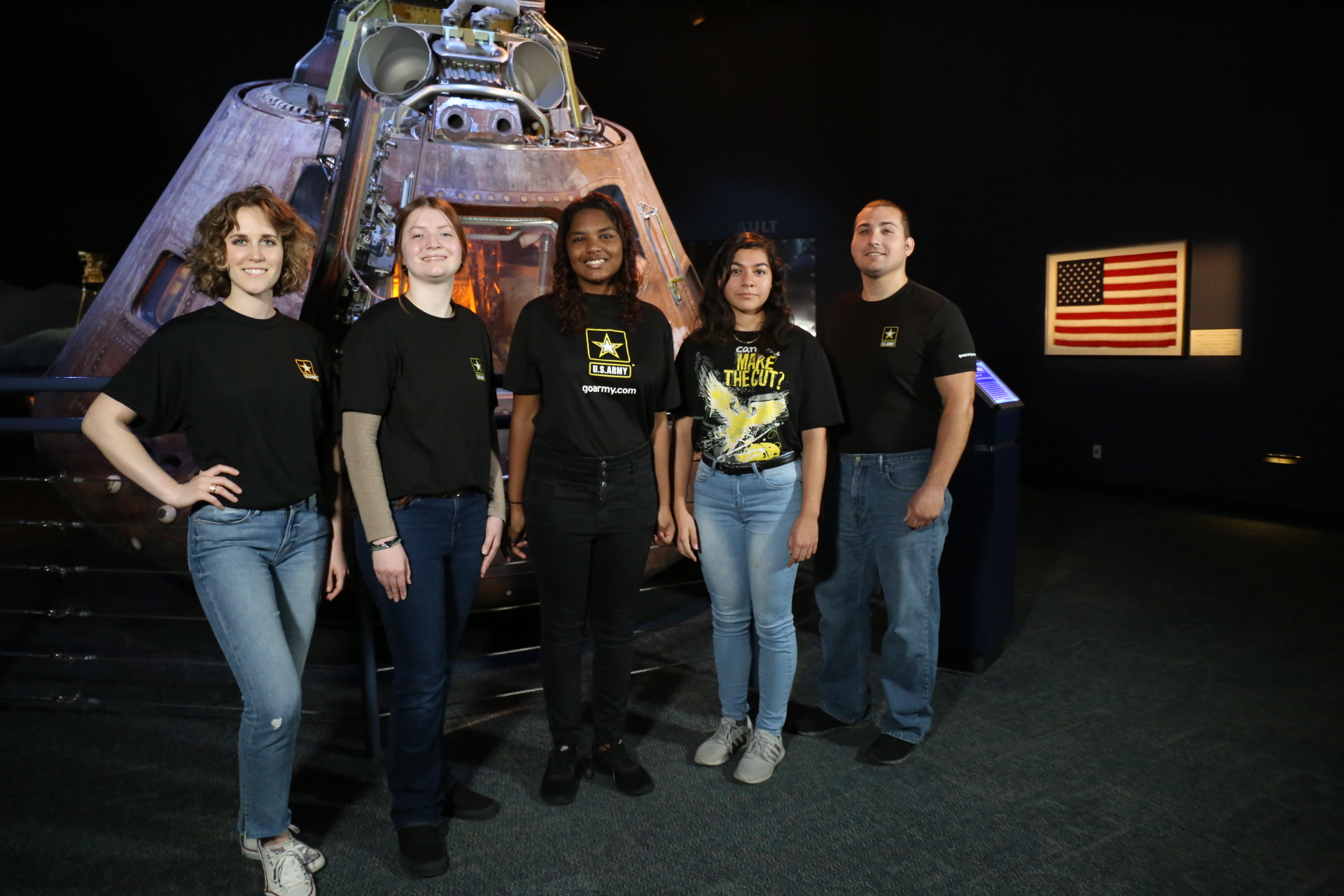 Space Center Houston Hosts First U.S. Army Enlistment Oath from Space