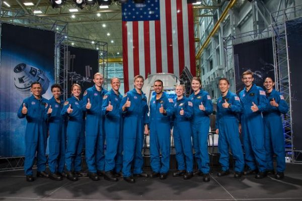 NASA's new astronauts