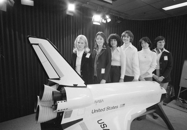 Early women astronauts of NASA