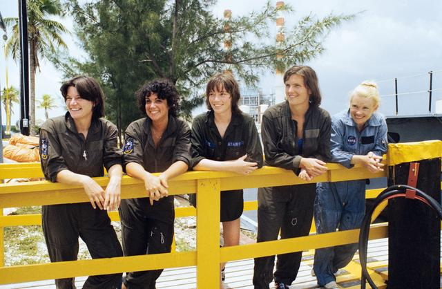 The first women astronauts