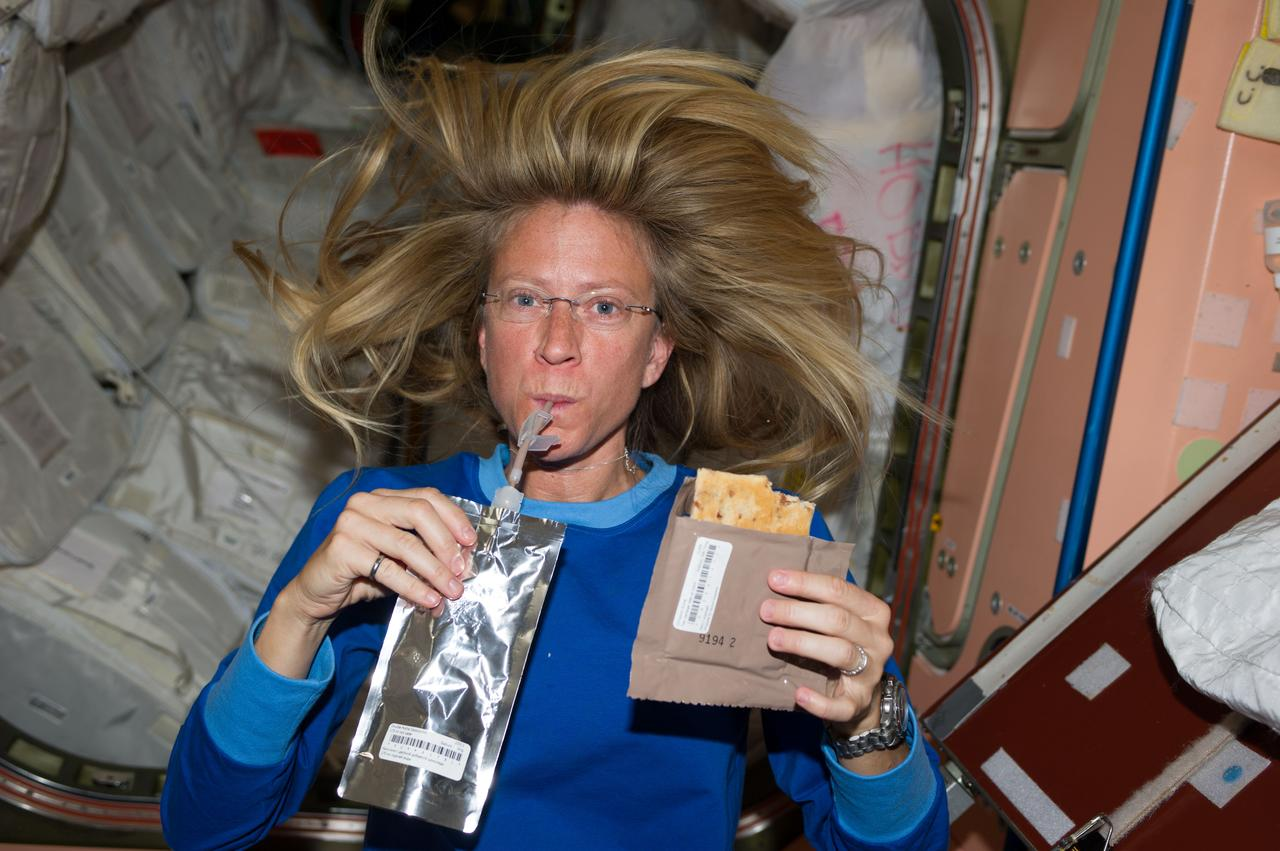 Space food: From creation to consumption