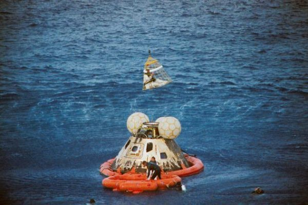 Apollo 13 recovery operation