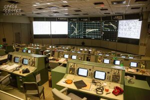 VIDEO: History Up Close - Historic Mission Control Console