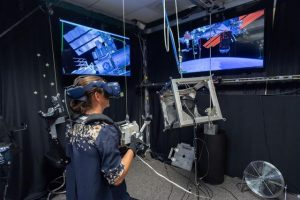 VR lab astronaut training