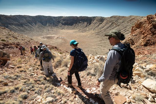 Geology training for astronaut candidates