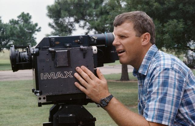 Training with the IMAX camera system