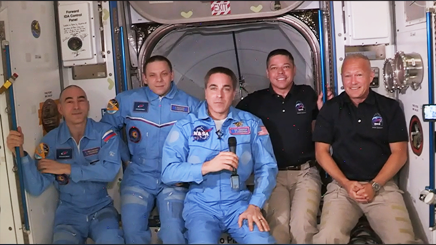 Welcome onboard the ISS
