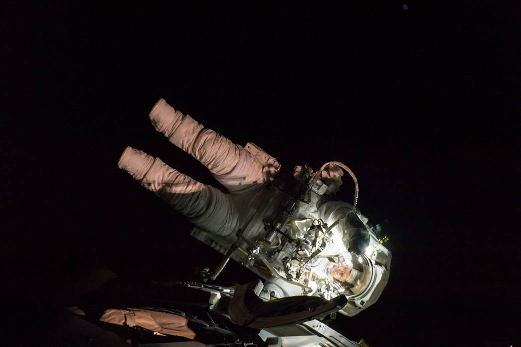 Peggy Whitson 8th spacewalk