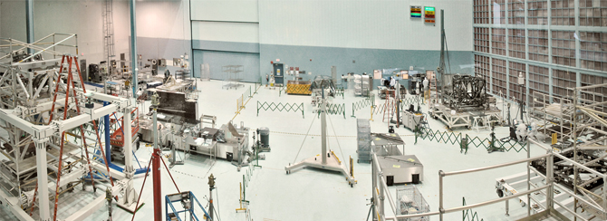 High Bay Clean Room at GSFC