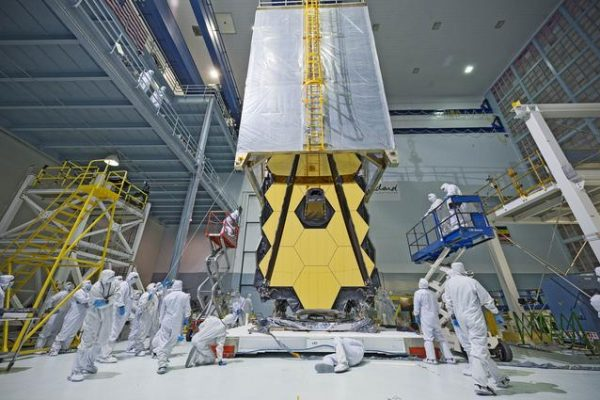 James Webb Telescope clean room