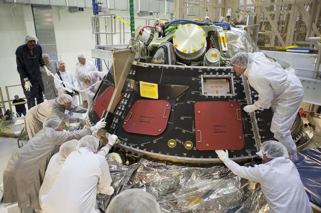 Orion clean room