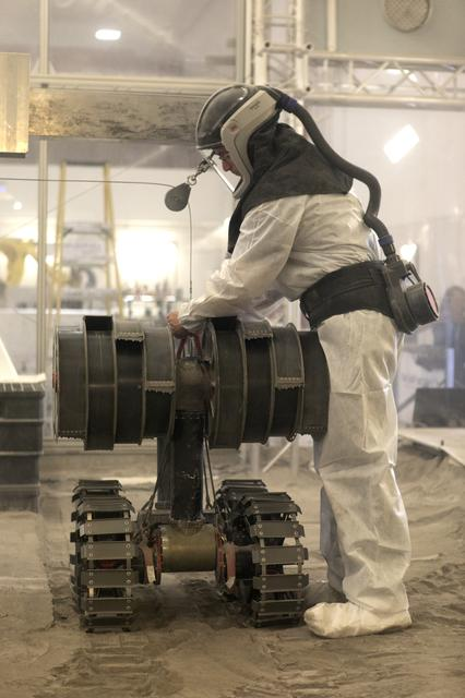 Regolith Advanced Surface Systems Operations Robot (RASSOR)