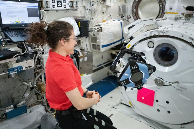 Mobility test of the free-flying Astrobee robotic assistant onboard the ISS