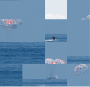Photo Puzzle: Splashdown!
