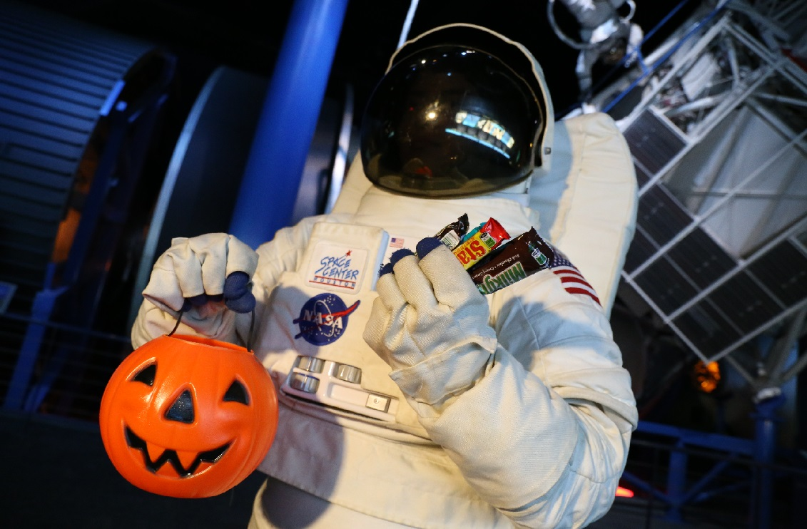 Space Center Houston Debuts Galaxy Frights, presented by Reliant