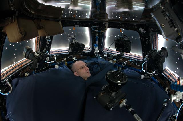 Photographing from inside the Cupola