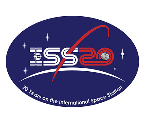 ISS 20 logo patch