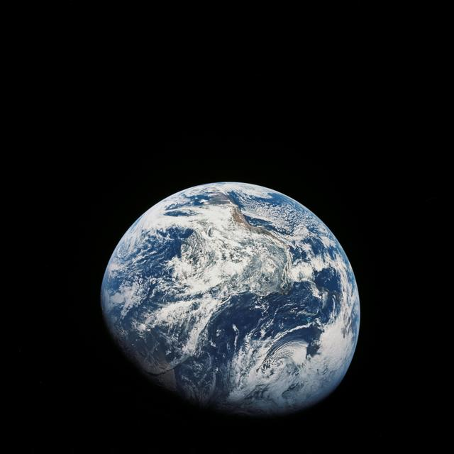 View of the Earth from Apollo 8