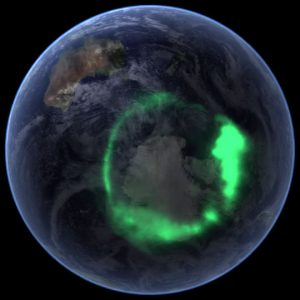 Solving Space: Aurora Australis by NASA's IMAGE Spacecraft