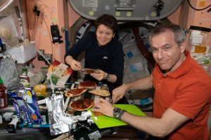 Cooking in Space