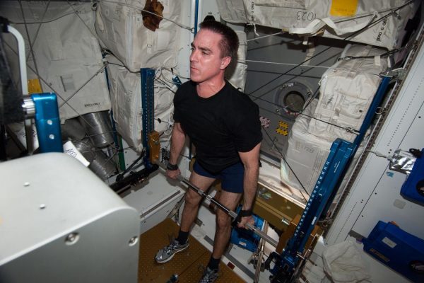 Weightlifting in space
